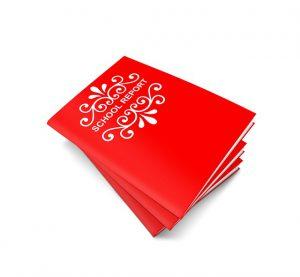 Czerwone zeszyty - dzienniki lekcyjne