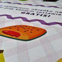 Ulotka - jadłospis