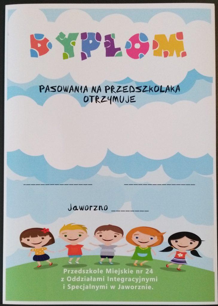 Projekt i druk dyplomów