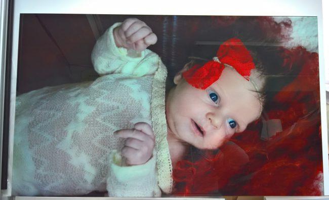 Przeniesienie zdjęcia dziecka na szkło